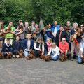 Gruppenfoto mit 30 Dackel