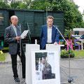 Michael Weiand (ehemaliger Schulleiter) und Holger Freitag (ehemlaiger SV-Lehrer)