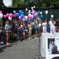 Schülerinnen und Schüler der Alexander-Lebenstein-Realschule