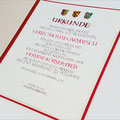 Verleihungsurkunde Hr.Thomas Garmatsch, Kulturwerkstatt Kaufbeuren