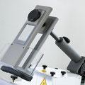 Centrex Frässchutz und Druckvorrichtung: sorgt für sicheres fixieren des Werkstückes