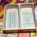 der Prototyp POT aus Plastik mit Geldfach und Fahnenkartenfach