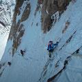 Gerlinde Kaltenbrunner impegnata sul K2