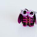 Mini Owl -Brown & Pink