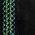 3-row J-Lace Blue/Green Reversible