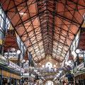 Le marché de Budapest construit par Gustave Eiffel