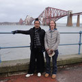 Master Yuan and Rachael at South Queensferry