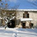 La Ferme de Gréoulou sous la neige