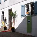 Eingang und Fensterbanner / Engelgasse 4