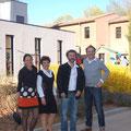 Aurélie, Pascal, Philou et Zani à l'expo de Salernes
