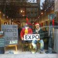 Expo sur le cours Mirabeau à Aix en Provence