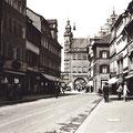 Spitalstraße mit Blick auf das Rathaus