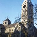 Heilig-Geist-Kirche im Februar 1959