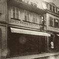 Spitalstraße 38 am 26.05.1896 -jetzt Eis-Cafe`