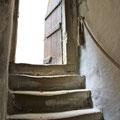 Treppe in den oberen Keller