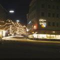 Spitalstraße im Dezember 1959