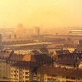 Blick vom SKF-Hochhaus auf die Fa. FAG (heute Schäffler) im März 1960