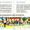 Einladung zum SKF Wiesenfest 1964. Innenseiten. © SKF Group
