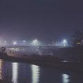 E-Werk und Maxbrücke im Dezember 1958