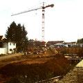 1996 - Blick Richtung Friedhof