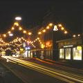Weihnachtsschmuck in der Rückertstraße im Dezember 1958