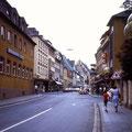 Rückertstraße im Juli 1982