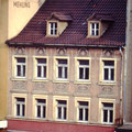 Das nachbargebäude am Rossmarkt 1992