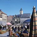 Marktplatz im Juni 1959