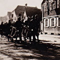 Feuerwehrübung 1936 in der Hauptstraße