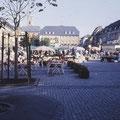 Marktplatz im August 1984
