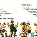 Einladung zum SKF Wiesenfest 1963. Innenseiten. © SKF Group