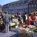 Markttag im Juli 1982