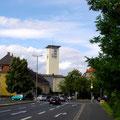 Friedrich-Ebert-Str. mit Kilianskirche am 06.07.2008