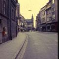 Rückertstraße Richtung Markt August 1972