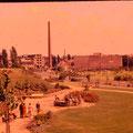Grünanlage Schuttberg (Trümmerberg) Juli 1960