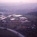 Blick auf das Sommerbad vom Hochhaus März 1960