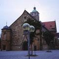 An der Johanniskirche im Juli 1982