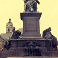 Rückert-Denkmal im Juli 1982
