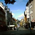 Spitalstraße wird Fußgängerzone 1992