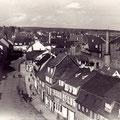 Bauerngasse, vermutlich vom einstigen Feuerwehrturm neben dem Zeugahus aus fotografiert
