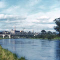Eisenbahnbrücke nach Gerolzhofen im Oktober 1958