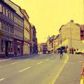 Brückenstraße Richtung Markt August 1972
