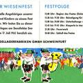 Einladung zum SKF Wiesenfest 1965. Innenseiten. © SKF Group