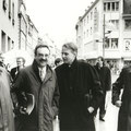 mit Hans-Ulrich Klose, regierender Bürgermeister Hamburg