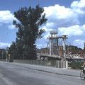 Neubau Maxbrücke im Juni 1959