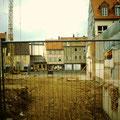 Blick von Apostelgasse zur Manggasse nach Abriss des Roten Ochsen 1999