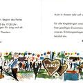 Einladung zum SKF Wiesenfest 1962. Innenseiten