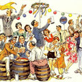 Einladung zum SKF Wiesenfest 1957. Rückseite. © SKF Group