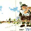 106a Einladung zum SKF Wiesenfest 1963. Vorder- u. Rückseite. © SKF Group