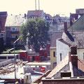 Bau Tiefgarage 1991
